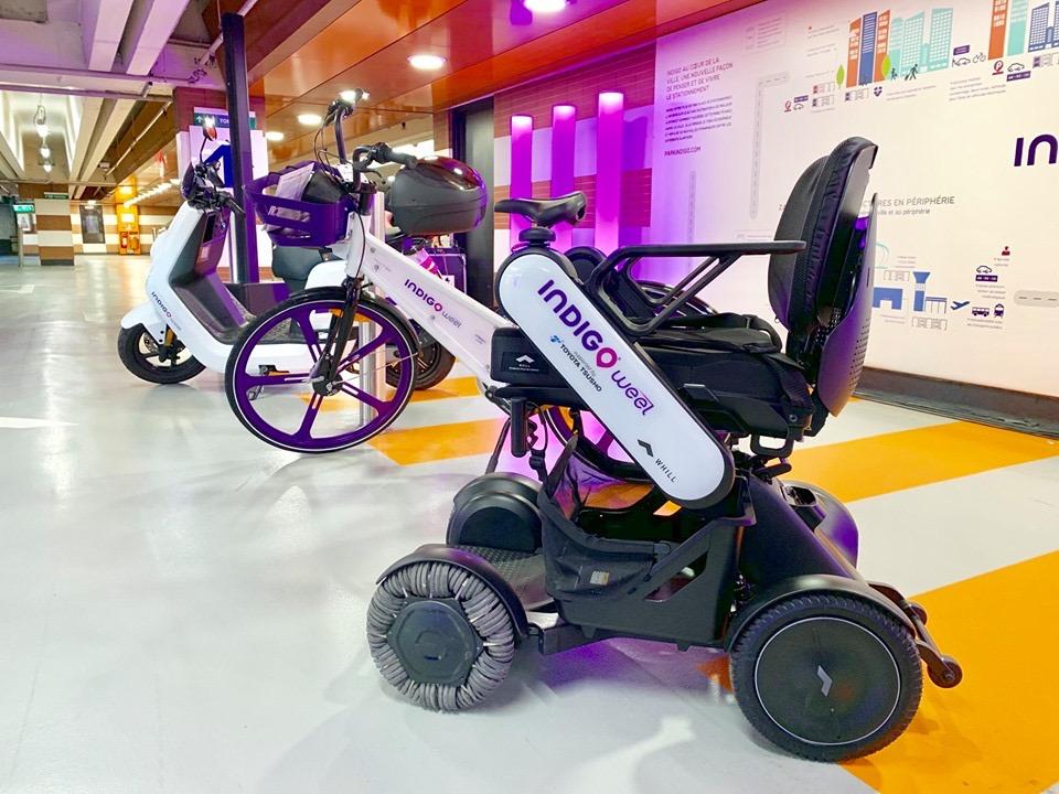 Toulouse - des fauteuils roulants électriques en libre-service, une première en France