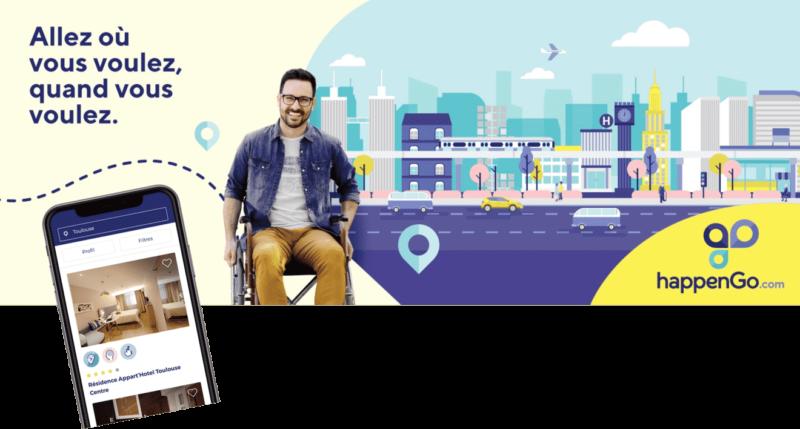 happenGo facilite les sorties des personnes à mobilité réduite