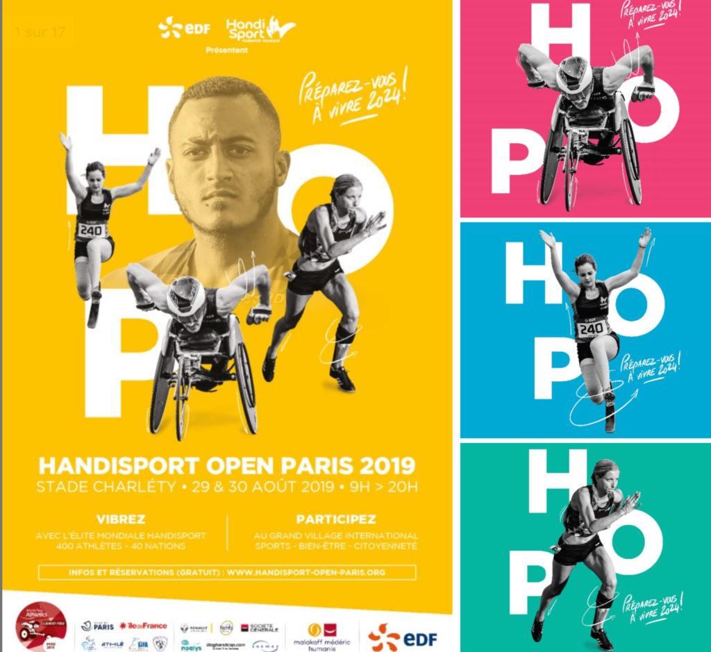 Handisport Open Paris 2019 au Stade Charléty
