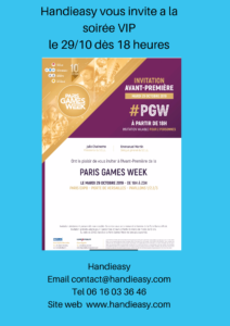 Read more about the article Paris Games Week 2019