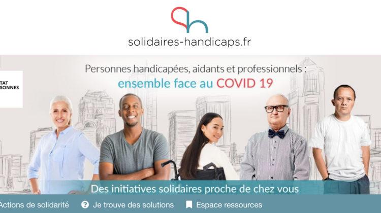 "Lancement de la plateforme ""Solidarités-Handicaps.fr"""