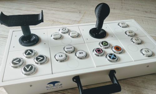 Gaming adapté : HitClic imprime vos joysticks sur mesure