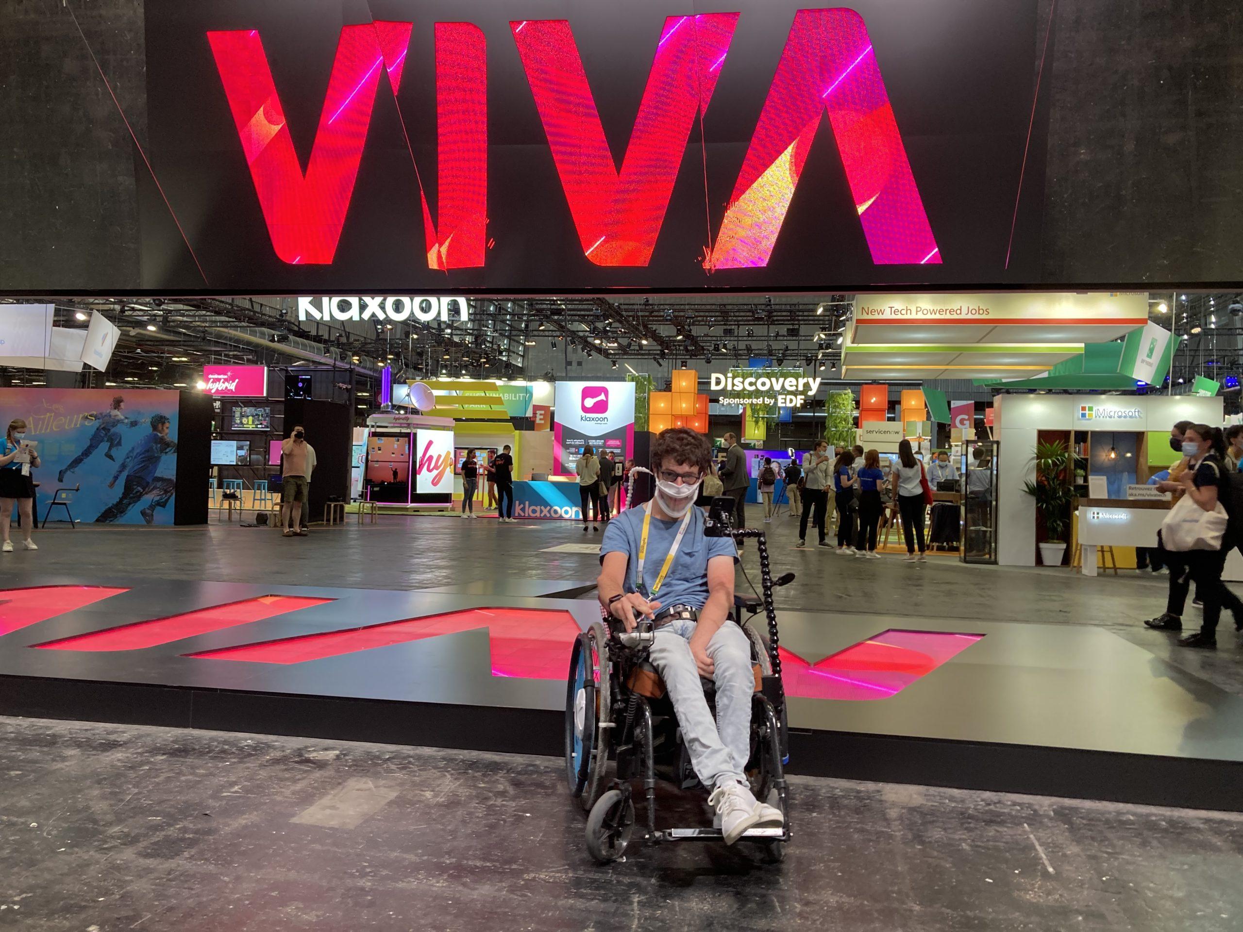 You are currently viewing 5 startups de handicap  présentes à VivaTech 2021
